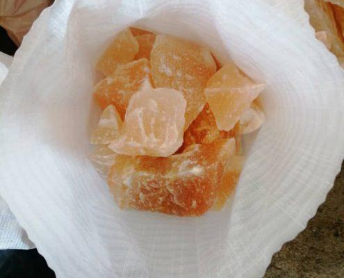 سنگ نمک نارنجی - پرتقالی