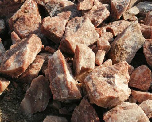 سنگ نمک قرمز- هیمالیا